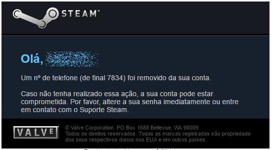 numero steam