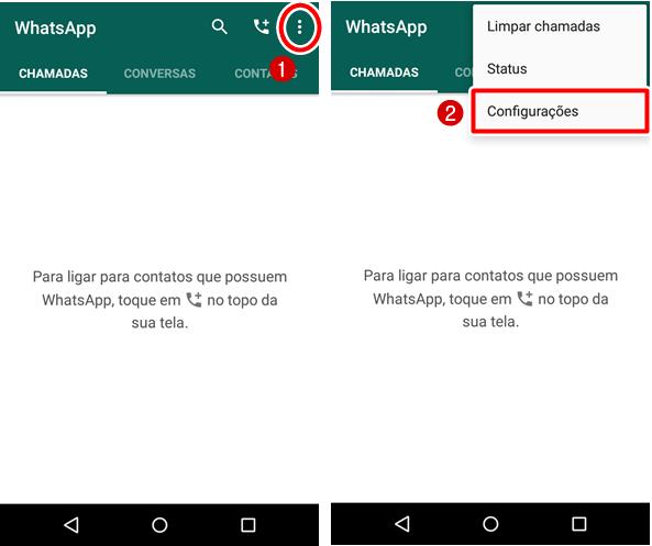 como ocultar o status online do WhatsApp