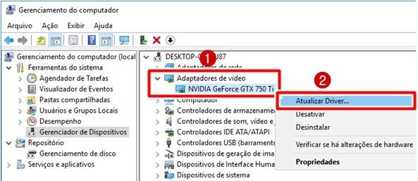 instalar driver nvidia gtx