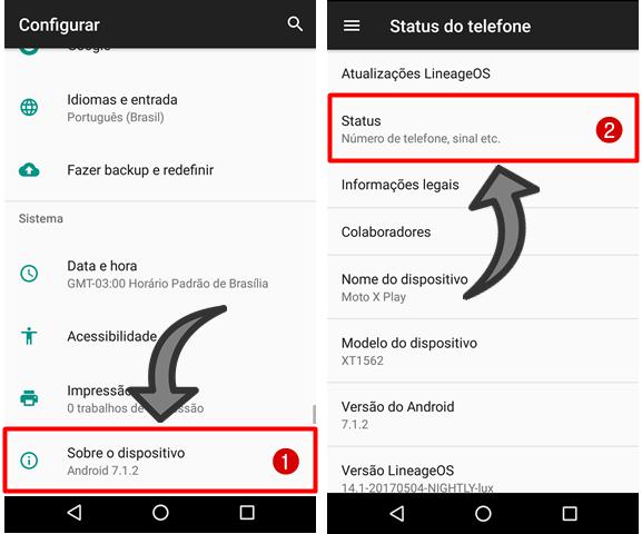 5 Formas de achar o IMEI do celular Android
