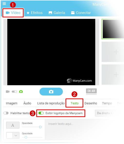 Remover logo ManyCam
