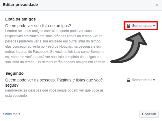 Amigo secreto no Facebook