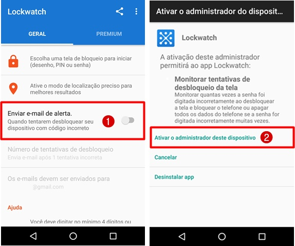 Como usar LockWatch