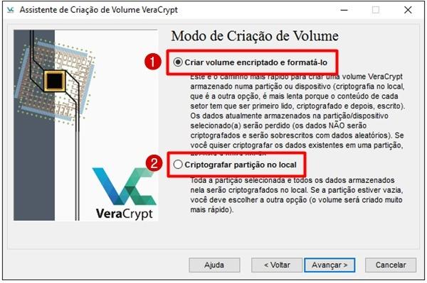 Criptografar HD externo