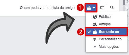 Registro Atividades Facebook