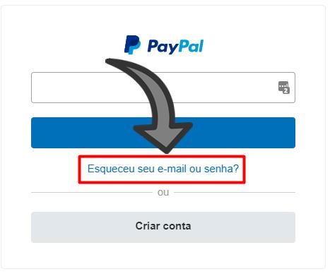 Como recuperar a senha do PayPal