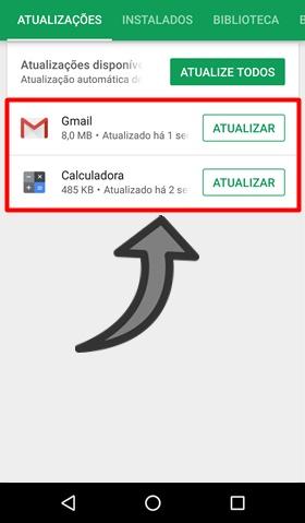 Tela preta no YouTube Android