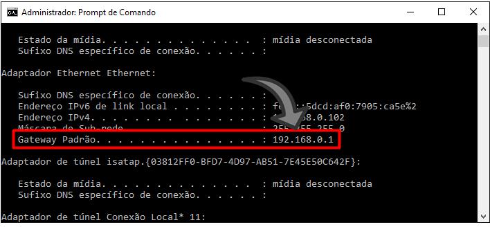 como descobrir o IP roteador de outra pessoa