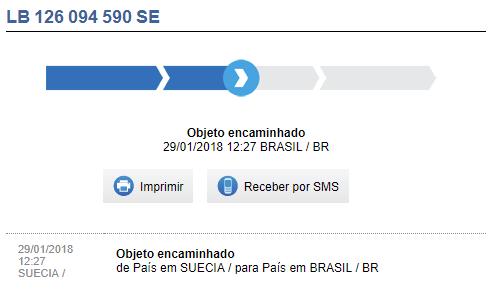 Rastrear aliexpress no Brasil