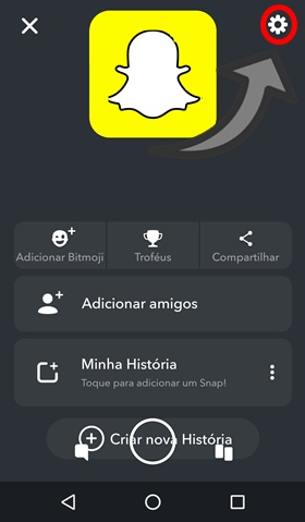 como deslogar do snapchat no android 2018