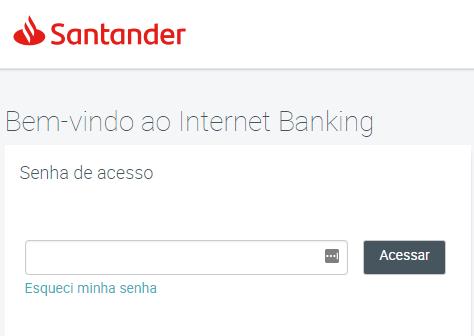 Como pagar contas online Santander